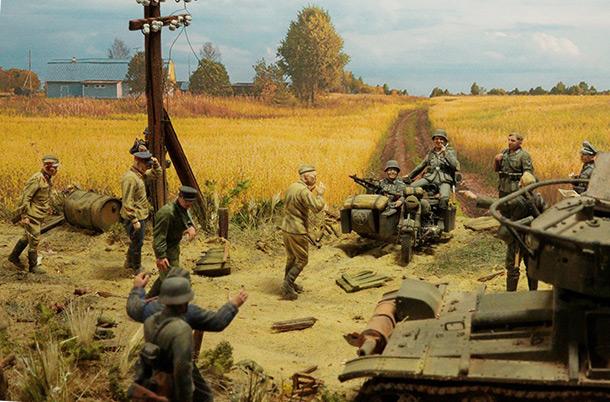 Диорамы и виньетки: 22 июня 1941 г. Без всякого объявления войны...