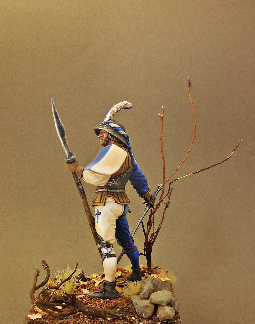 Фигурки: Швейцарский воин, XV в., фото #3