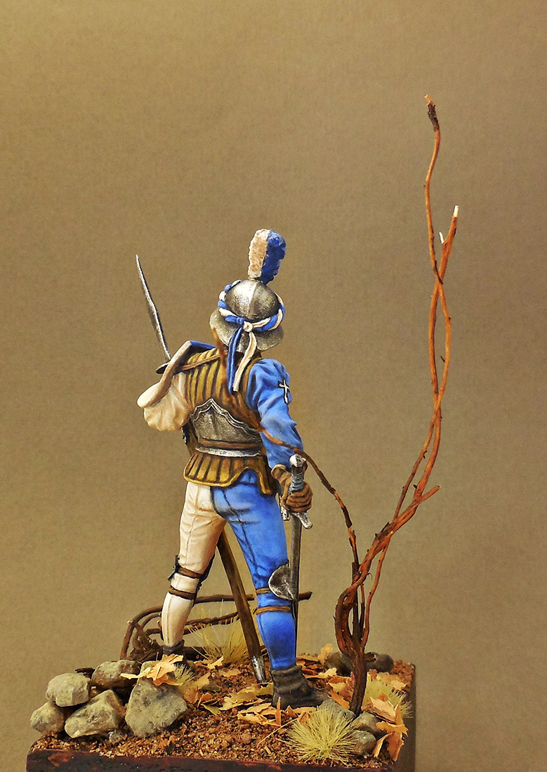 Фигурки: Швейцарский воин, XV в., фото #5
