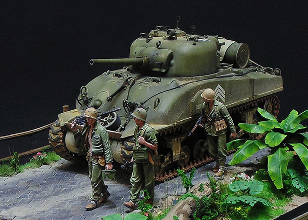 Диорамы и виньетки: M4 Sherman