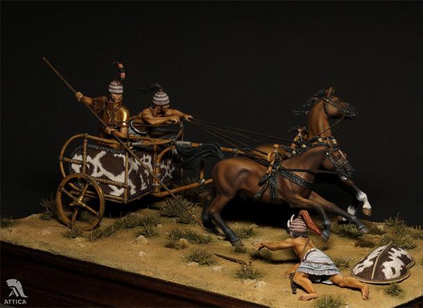 Диорамы и виньетки: Микенская колесница