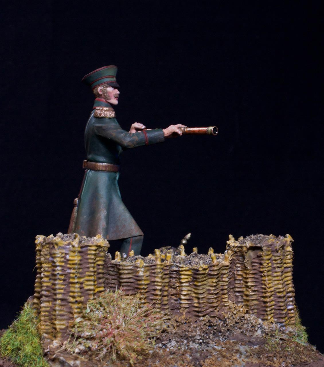 Фигурки: Штабс-капитан 17-го пехотного полка, 1853-56, фото #7