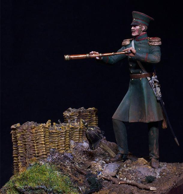 Фигурки: Штабс-капитан 17-го пехотного полка, 1853-56