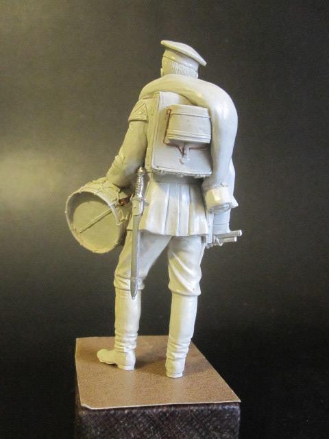 Скульптура: Гвардейский барабанщик 1884г., фото #4