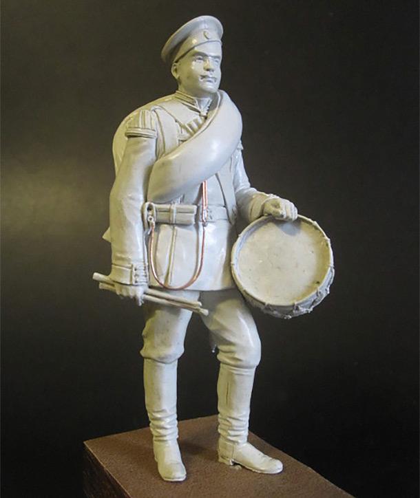 Скульптура: Гвардейский барабанщик 1884г.