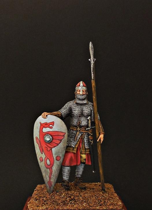 Фигурки: Нормандский рыцарь, 2-я пол. XI в., фото #1