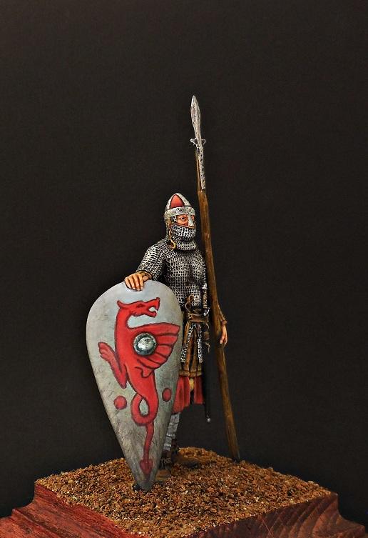 Фигурки: Нормандский рыцарь, 2-я пол. XI в., фото #6