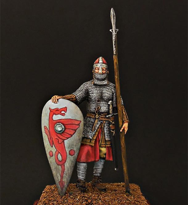 Фигурки: Нормандский рыцарь, 2-я пол. XI в.