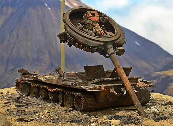 Диорамы и виньетки: Т-72Б… 08.08.08.