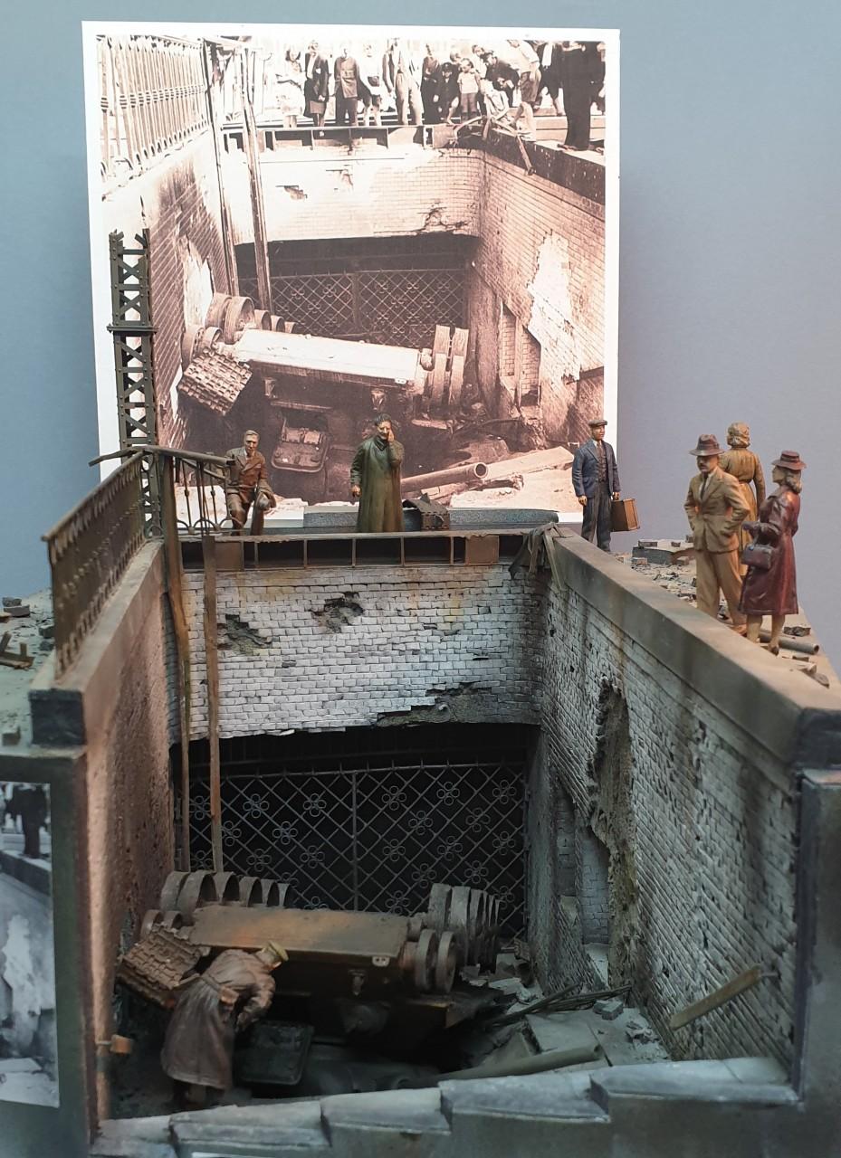 Диорамы и виньетки: Берлин, Александерплатц, май 1945, фото #1