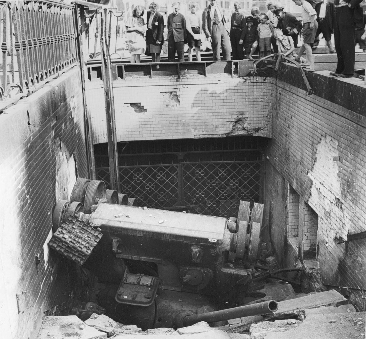 Диорамы и виньетки: Берлин, Александерплатц, май 1945, фото #17