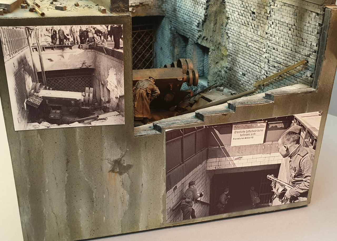 Диорамы и виньетки: Берлин, Александерплатц, май 1945, фото #3