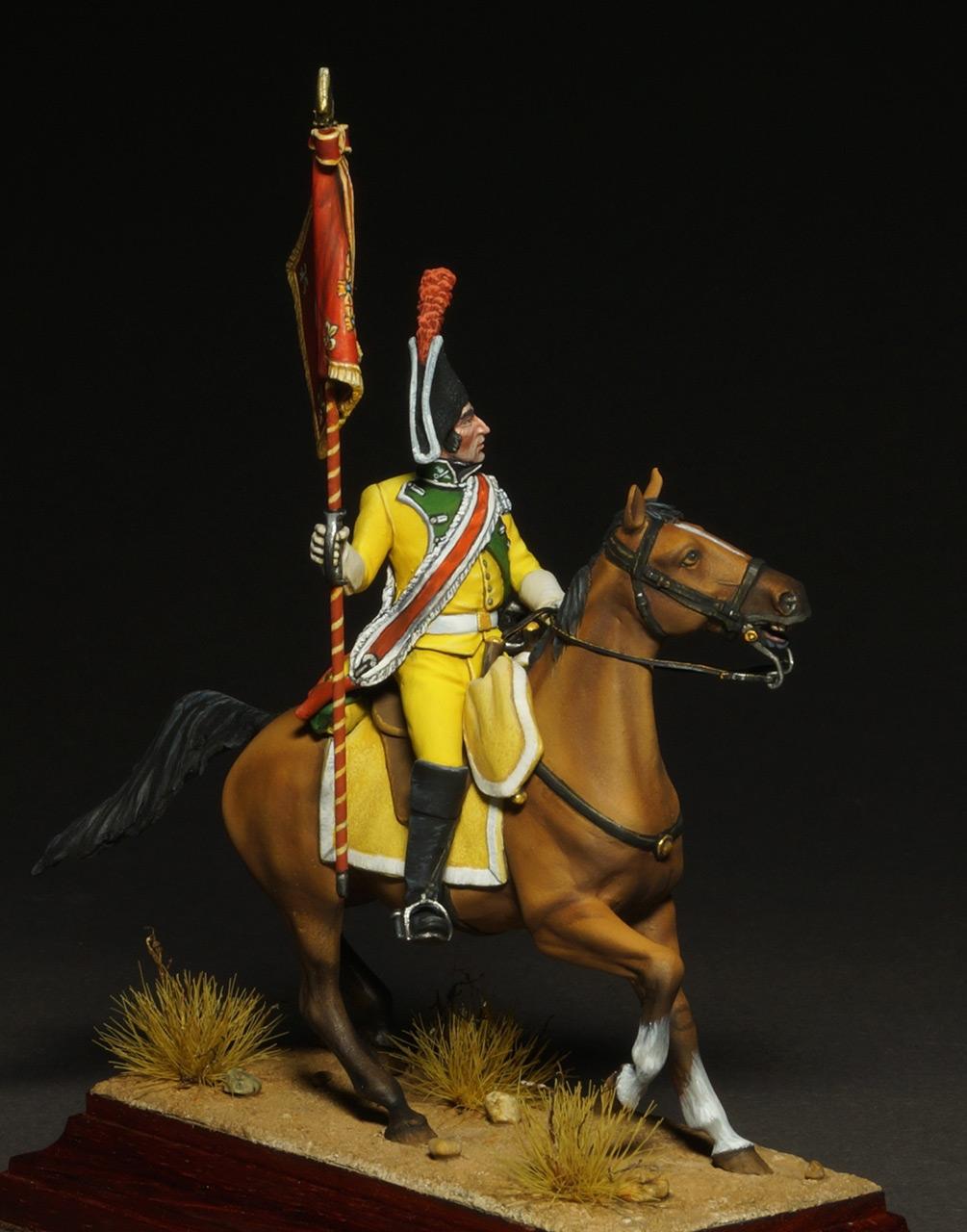 Фигурки: Драгунский знаменосец полка Villaviciosa, фото #4