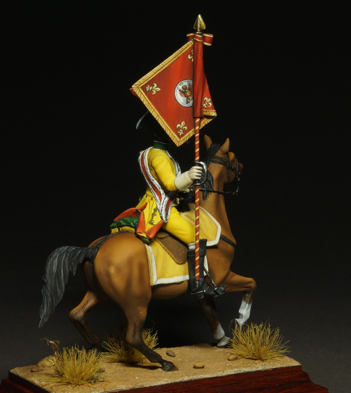 Фигурки: Драгунский знаменосец полка Villaviciosa, фото #7