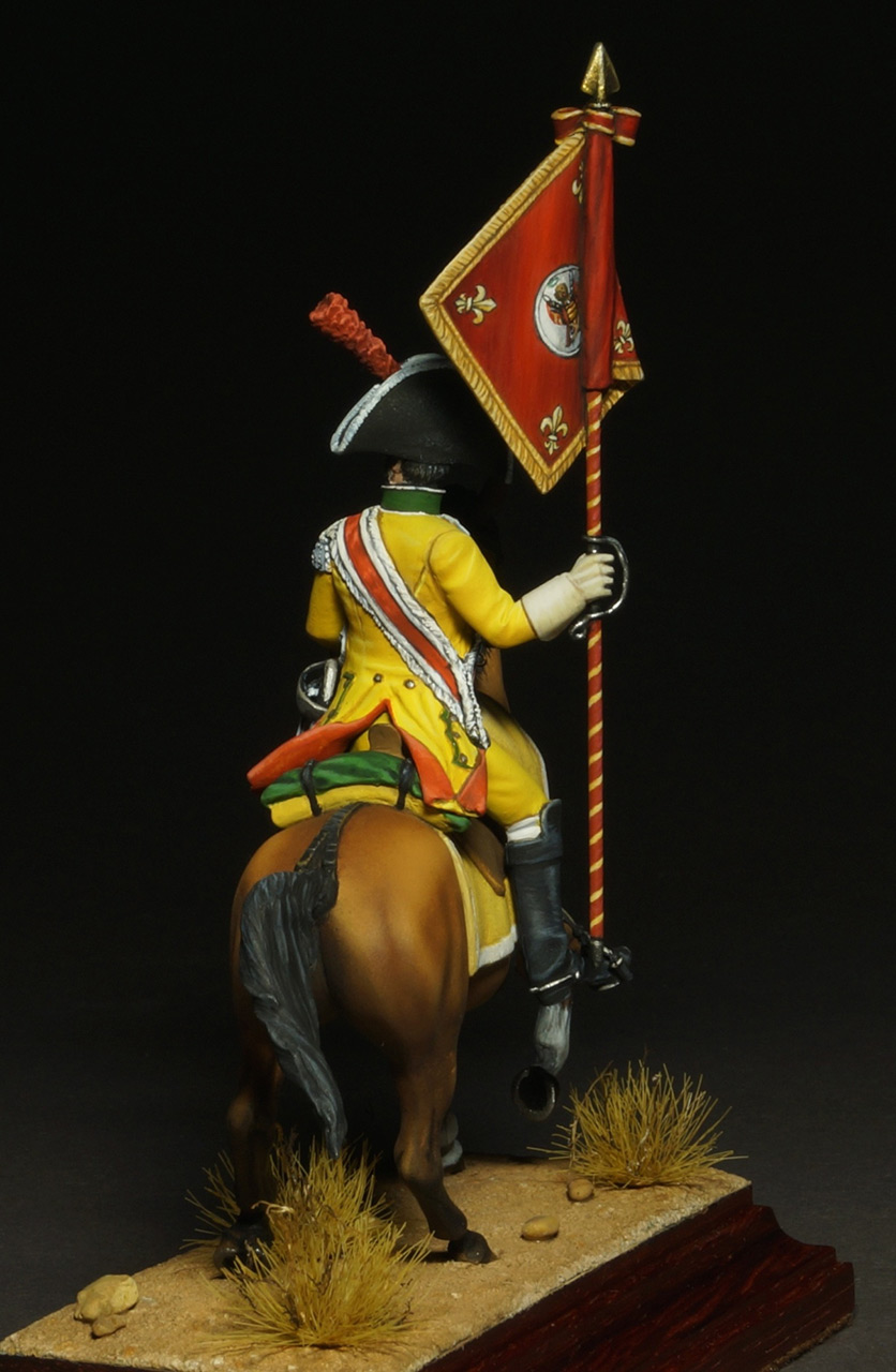Фигурки: Драгунский знаменосец полка Villaviciosa, фото #8