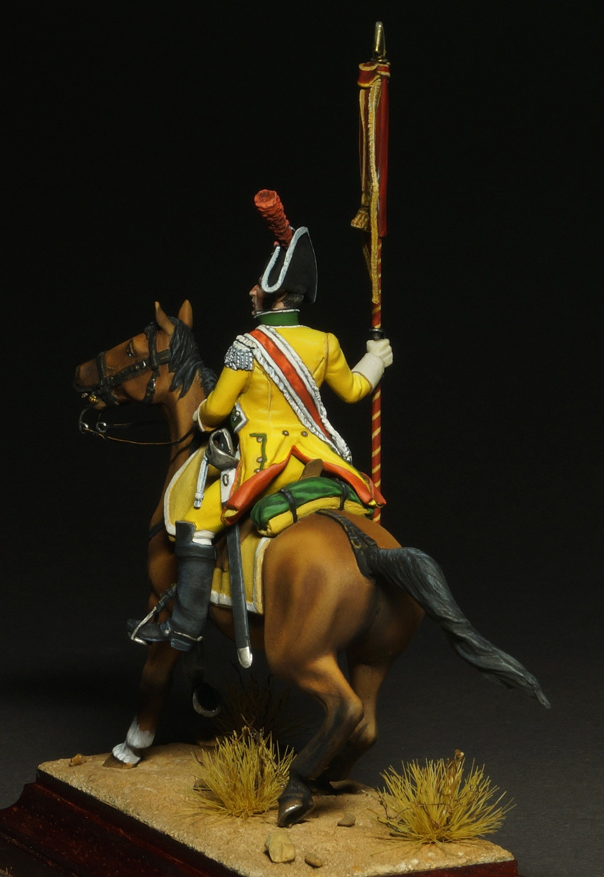 Фигурки: Драгунский знаменосец полка Villaviciosa, фото #9