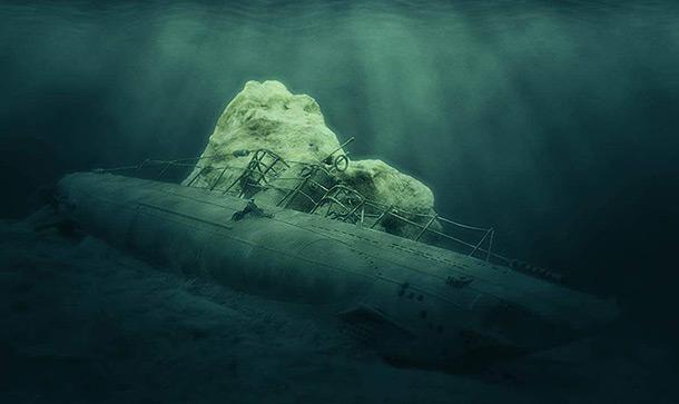 Диорамы и виньетки: U-boot Type IIB. Подводная война…