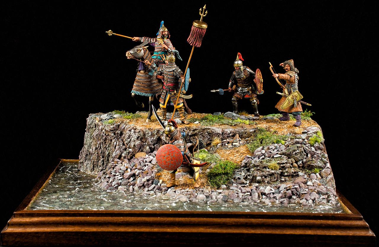 Диорамы и виньетки: Монголы, фото #1