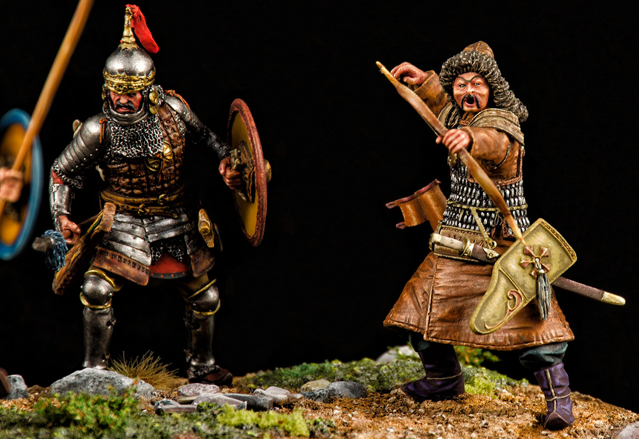 Диорамы и виньетки: Монголы, фото #3