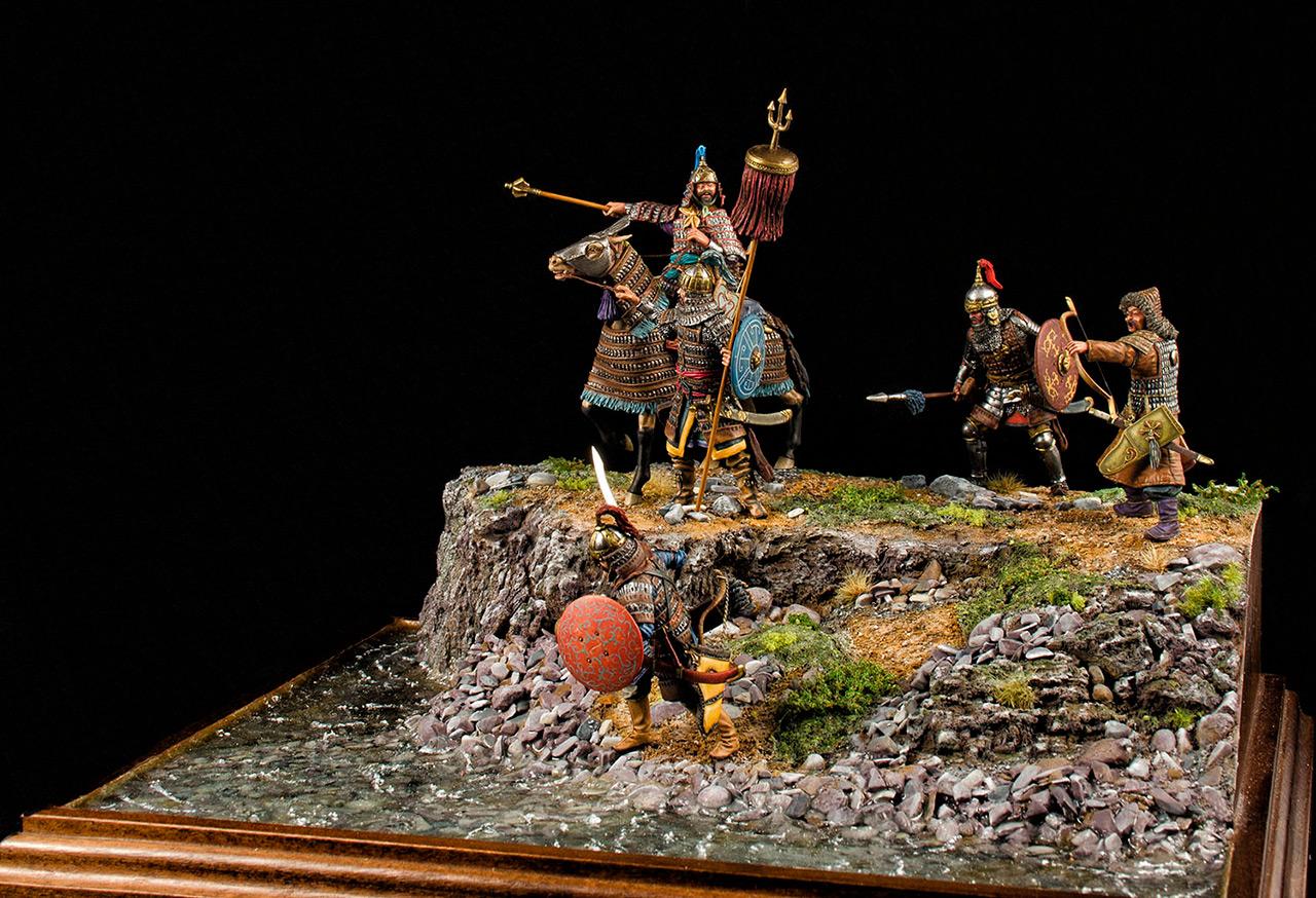Диорамы и виньетки: Монголы, фото #6