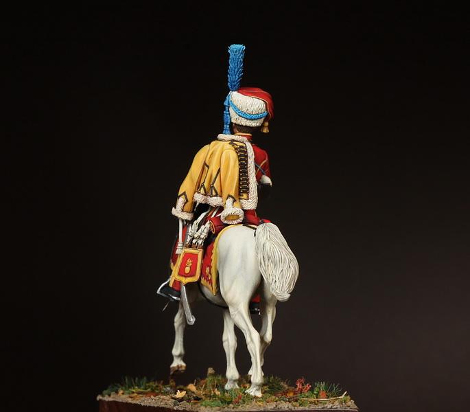 Фигурки: Трубач элитной роты 9-ого гусарского полка, фото #7