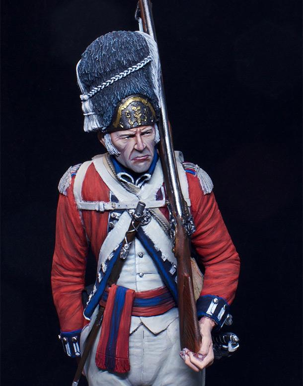 Фигурки: Сержант 7-го пехотного полка, 1789 г.