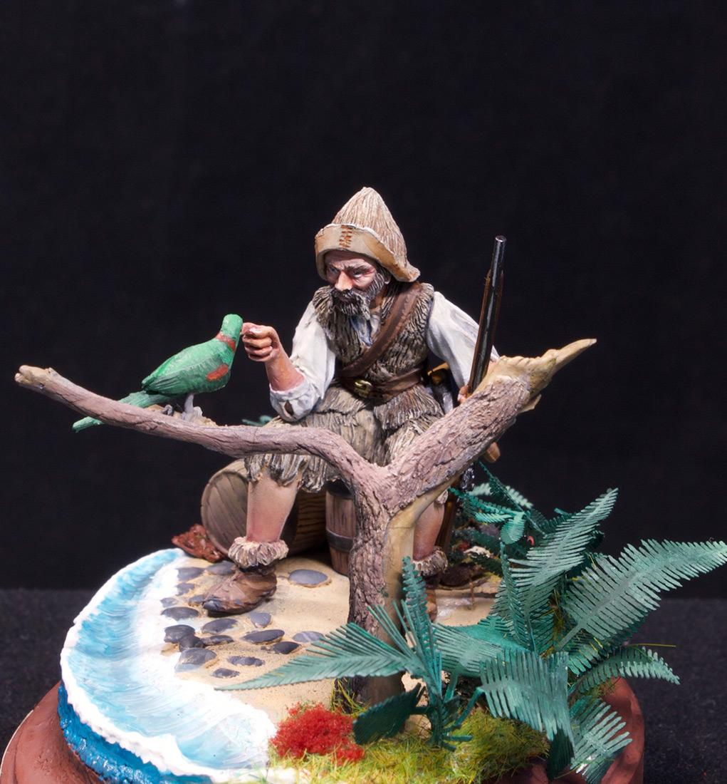 Диорамы и виньетки: Моряк из Йорка, фото #1