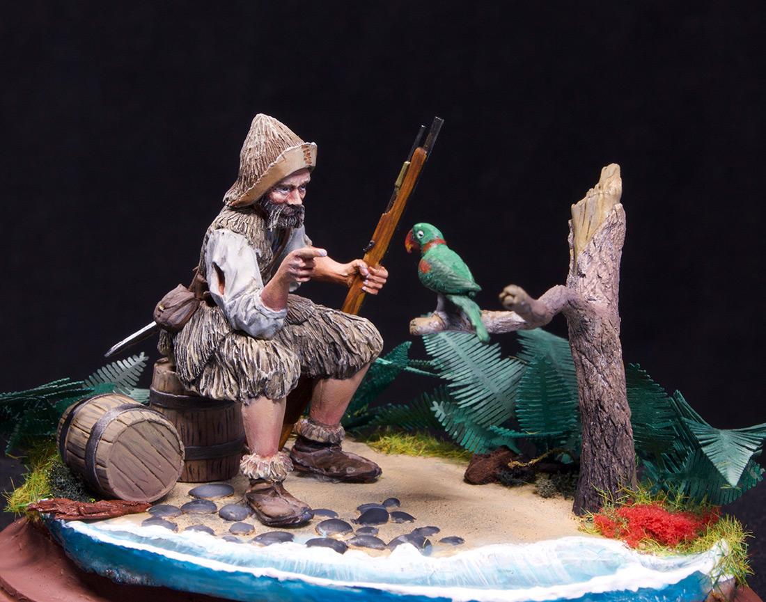 Диорамы и виньетки: Моряк из Йорка, фото #5