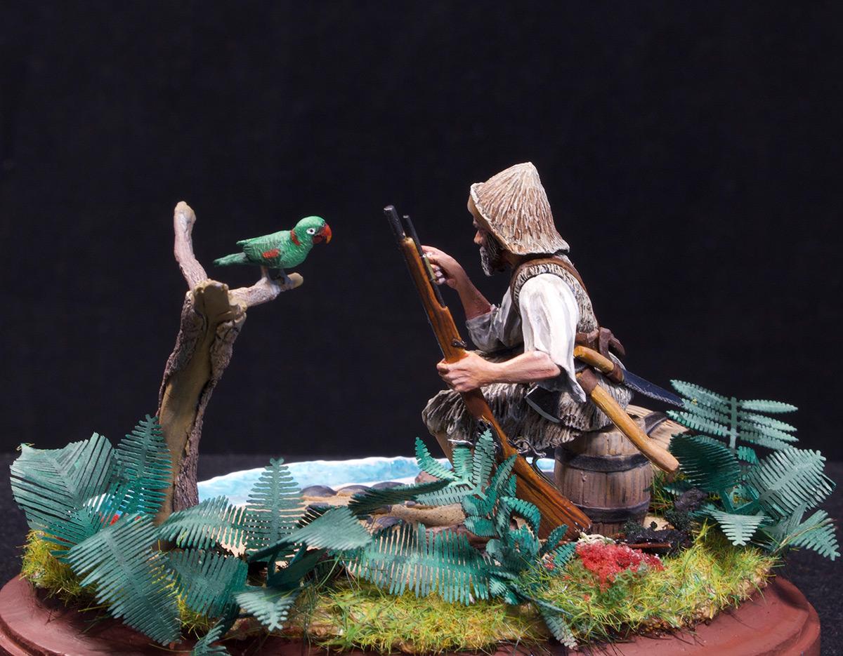 Диорамы и виньетки: Моряк из Йорка, фото #8