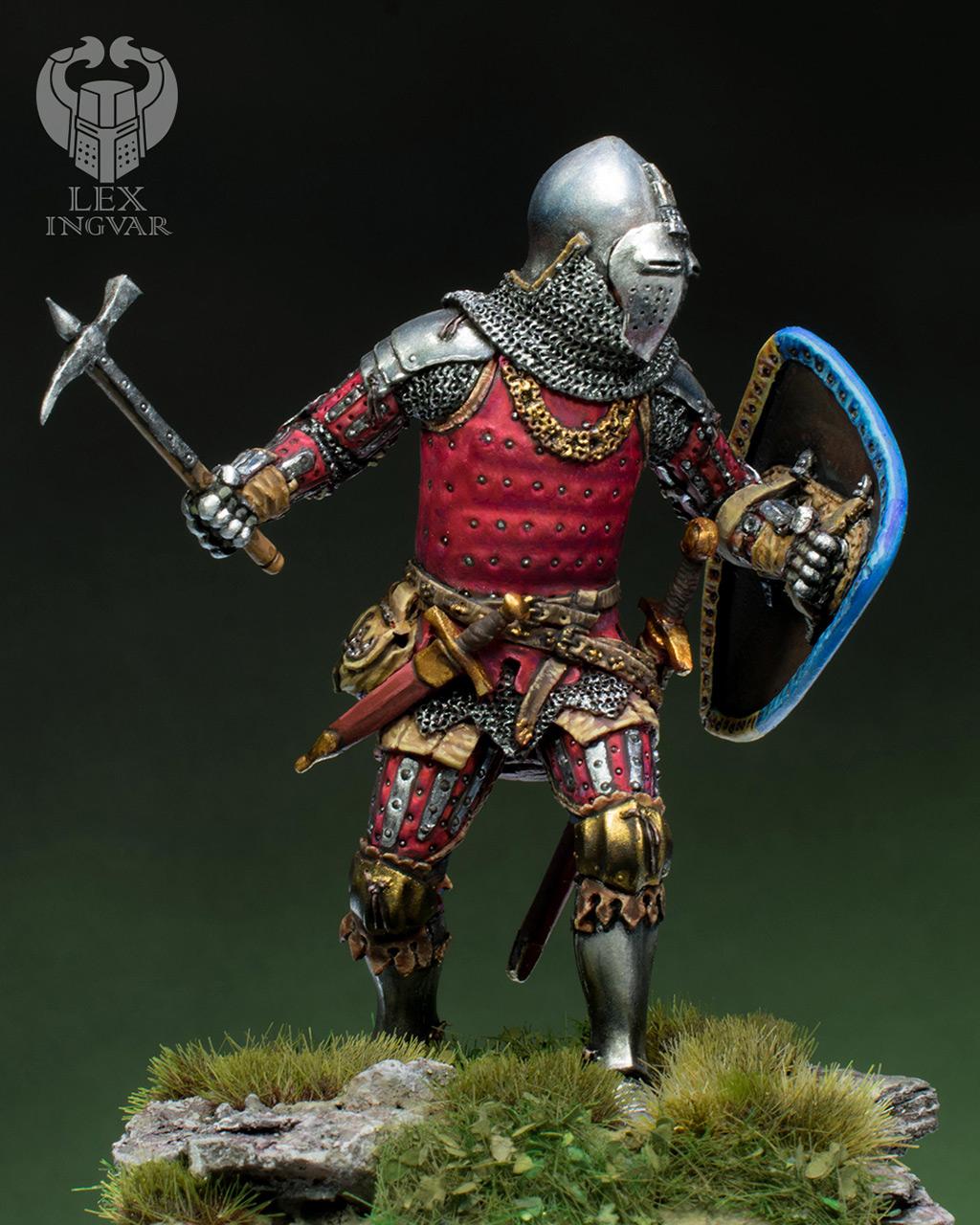 Фигурки: Германский рыцарь из рода Гогенштейнов, XIV в., фото #1