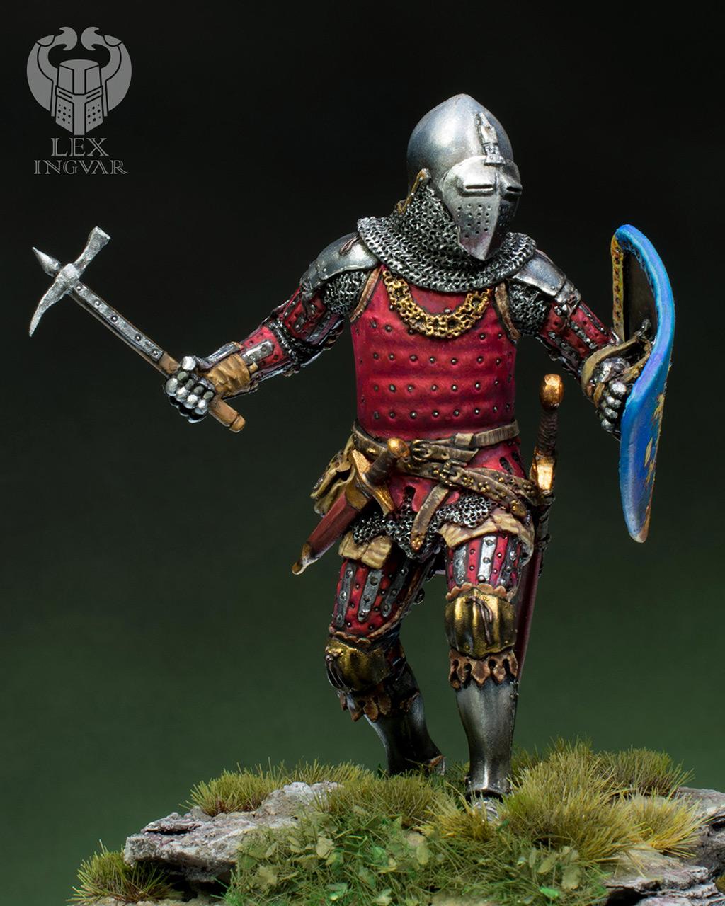 Фигурки: Германский рыцарь из рода Гогенштейнов, XIV в., фото #2