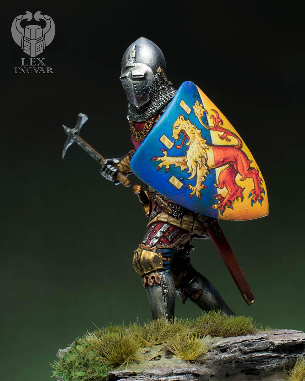 Фигурки: Германский рыцарь из рода Гогенштейнов, XIV в., фото #4
