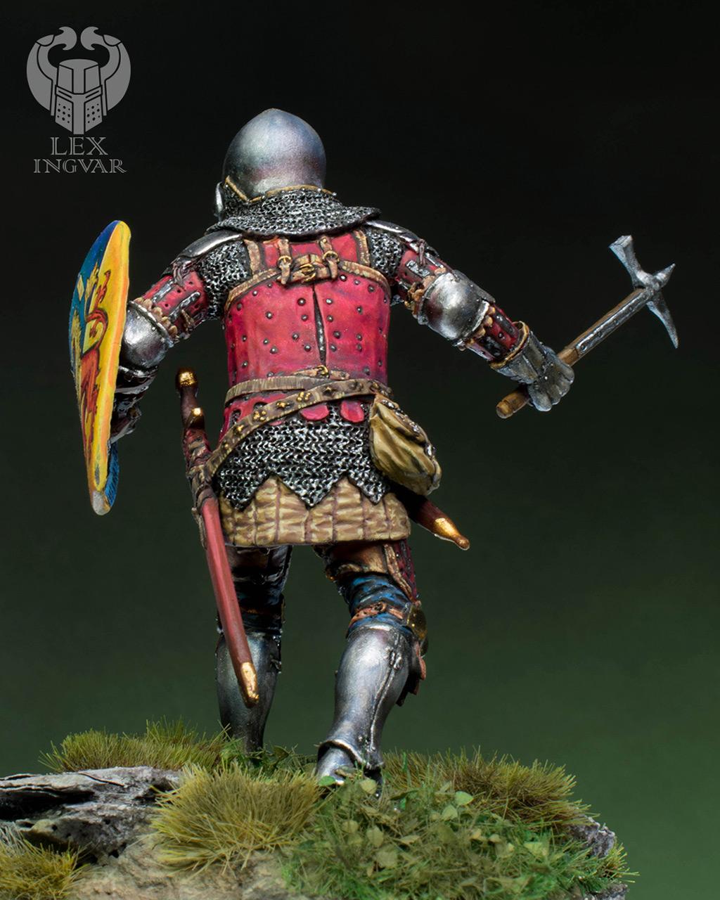 Фигурки: Германский рыцарь из рода Гогенштейнов, XIV в., фото #6