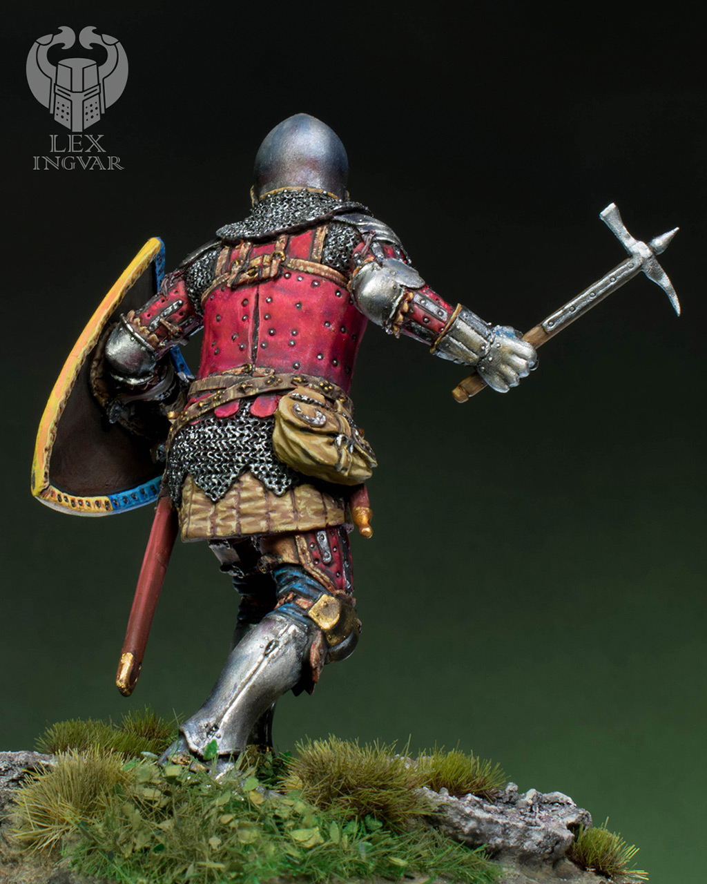 Фигурки: Германский рыцарь из рода Гогенштейнов, XIV в., фото #7