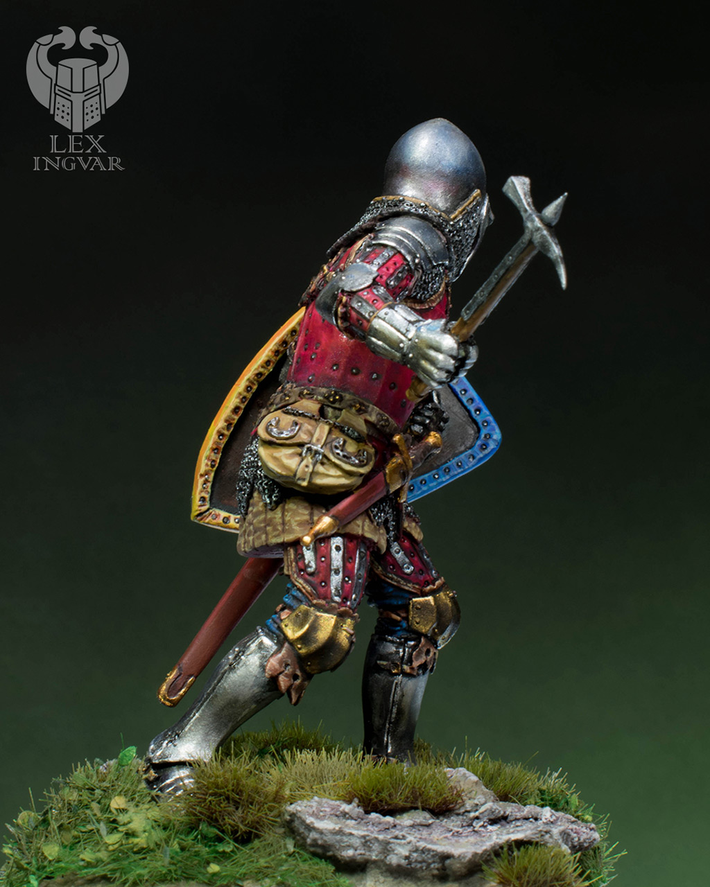 Фигурки: Германский рыцарь из рода Гогенштейнов, XIV в., фото #8