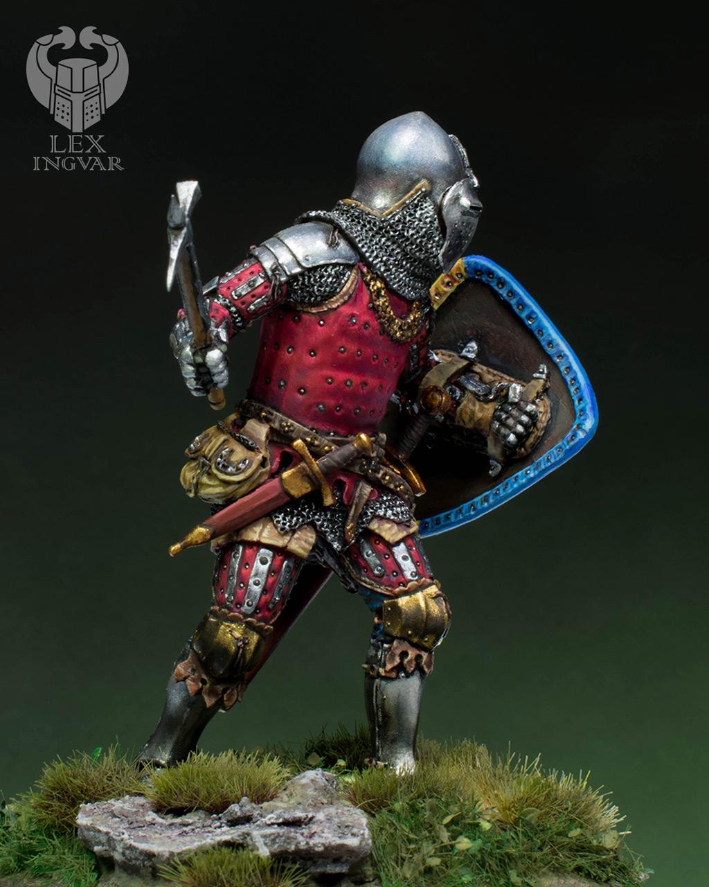 Фигурки: Германский рыцарь из рода Гогенштейнов, XIV в., фото #9