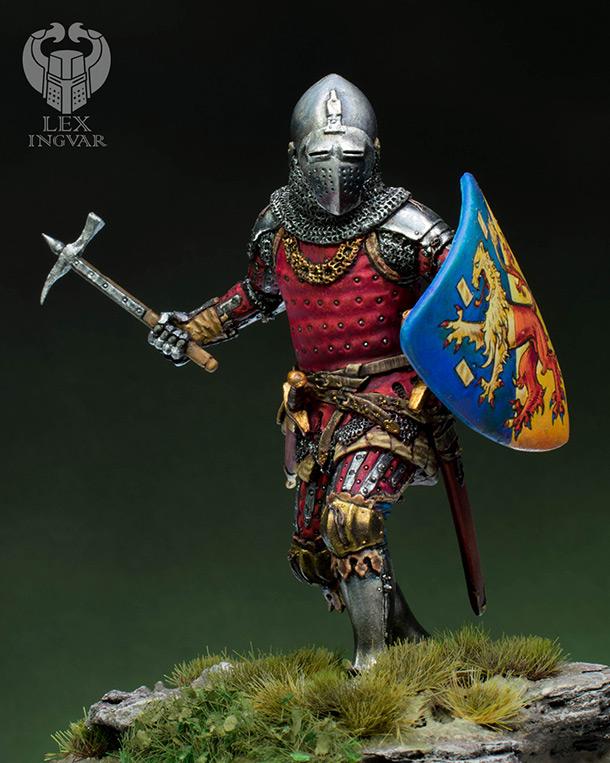 Фигурки: Германский рыцарь из рода Гогенштейнов, XIV в.