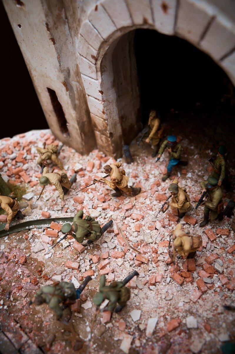 Диорамы и виньетки: Защитникам крепости посвящается, фото #10