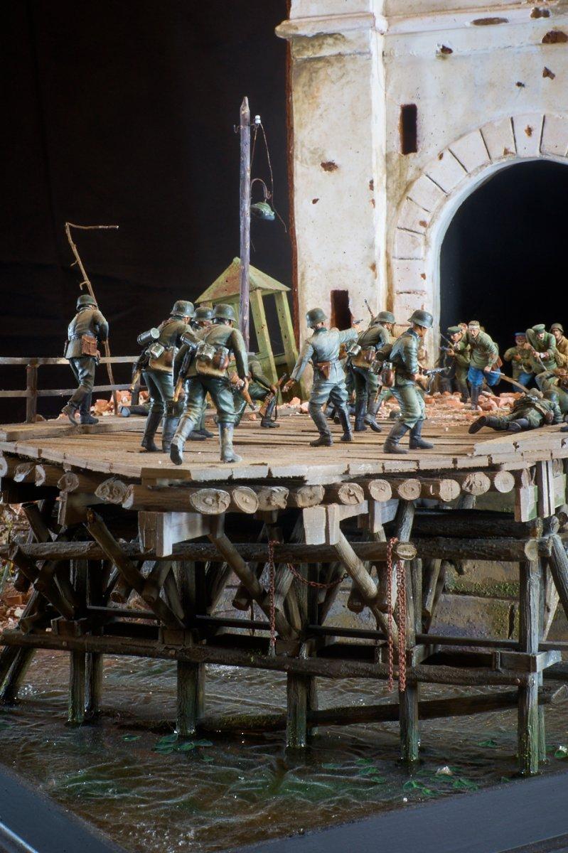 Диорамы и виньетки: Защитникам крепости посвящается, фото #13