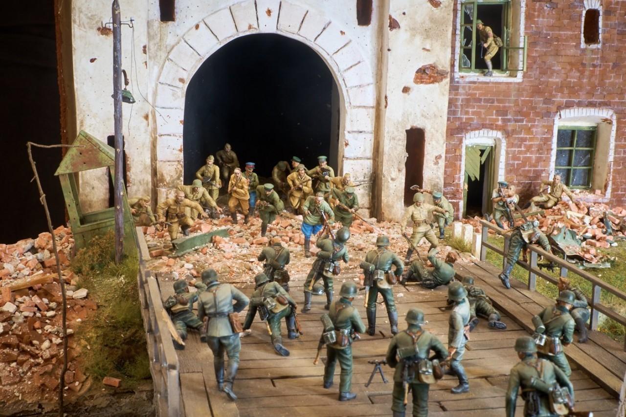 Диорамы и виньетки: Защитникам крепости посвящается, фото #4