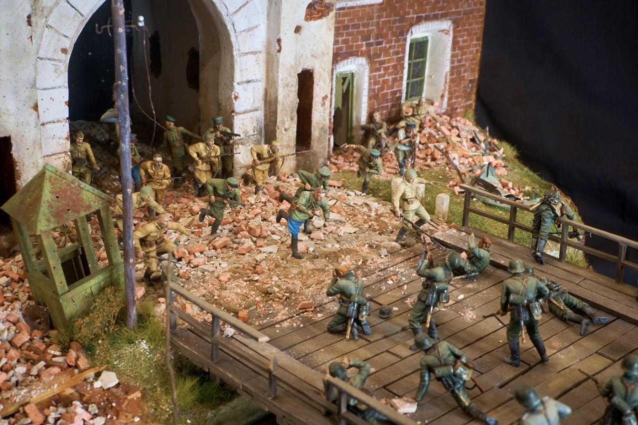 Диорамы и виньетки: Защитникам крепости посвящается, фото #6