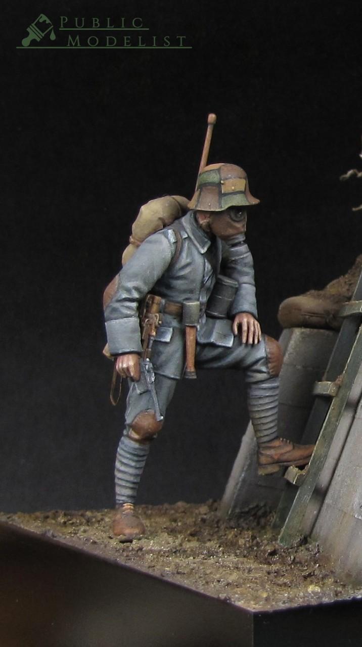 Фигурки: Штурмовик кайзера, 1918, фото #6