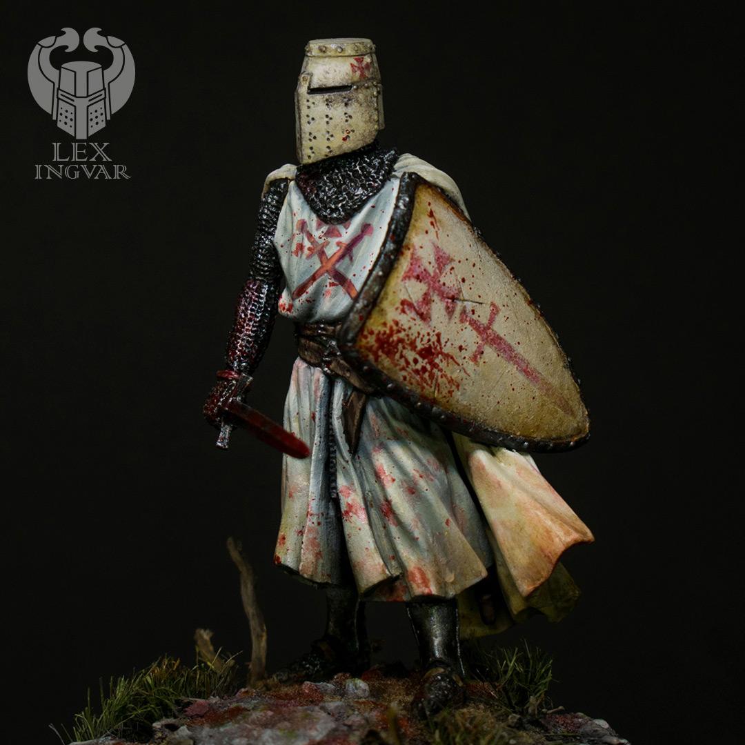 Фигурки: Ливонский рыцарь в битве при Сауле, 22 сентября 1236 г., фото #2