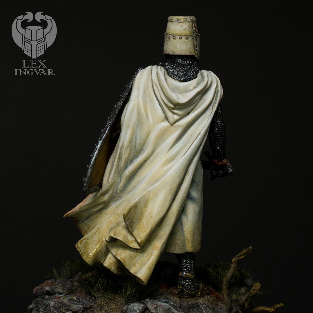 Фигурки: Ливонский рыцарь в битве при Сауле, 22 сентября 1236 г., фото #6
