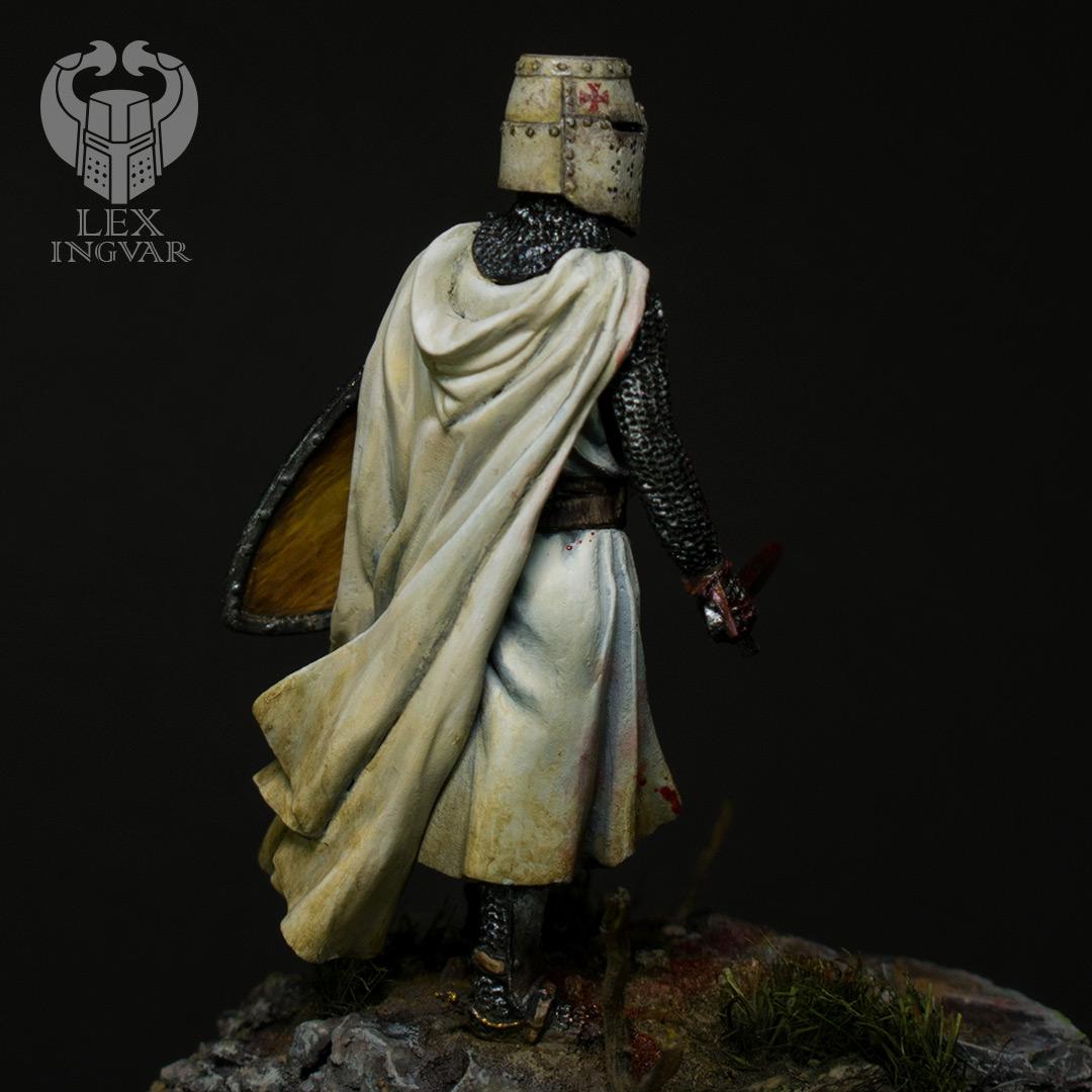 Фигурки: Ливонский рыцарь в битве при Сауле, 22 сентября 1236 г., фото #7