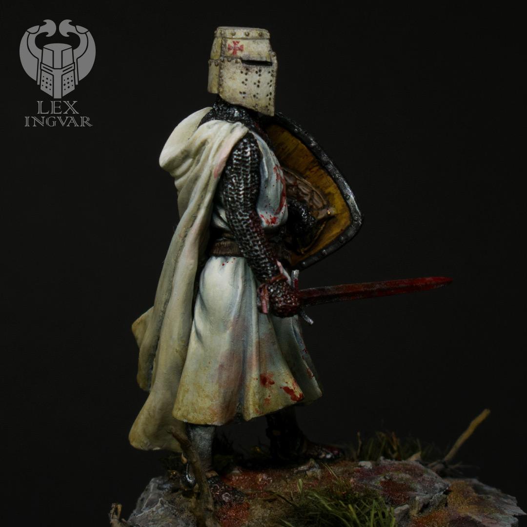 Фигурки: Ливонский рыцарь в битве при Сауле, 22 сентября 1236 г., фото #8