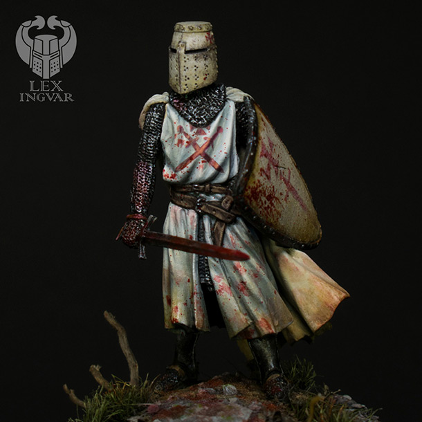 Фигурки: Ливонский рыцарь в битве при Сауле, 22 сентября 1236 г.