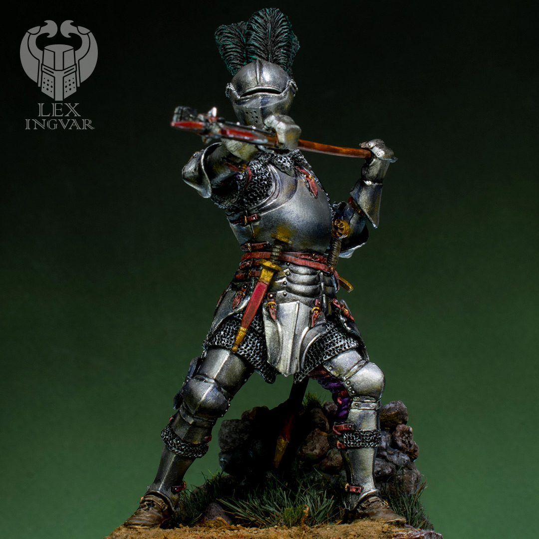 Фигурки: Итальянский кондотьер, бургундский рыцарь, фото #1