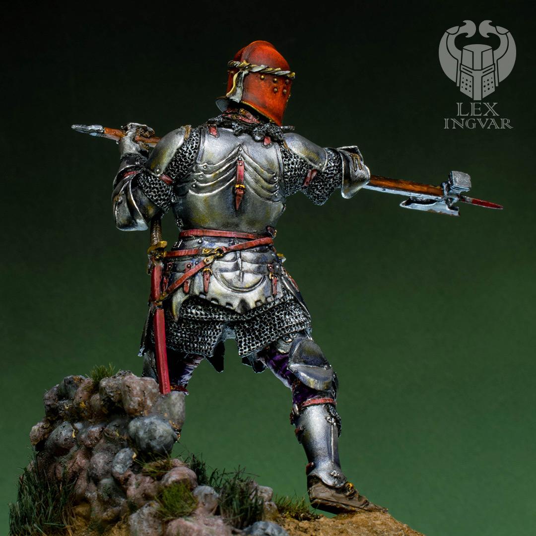 Фигурки: Итальянский кондотьер, бургундский рыцарь, фото #10