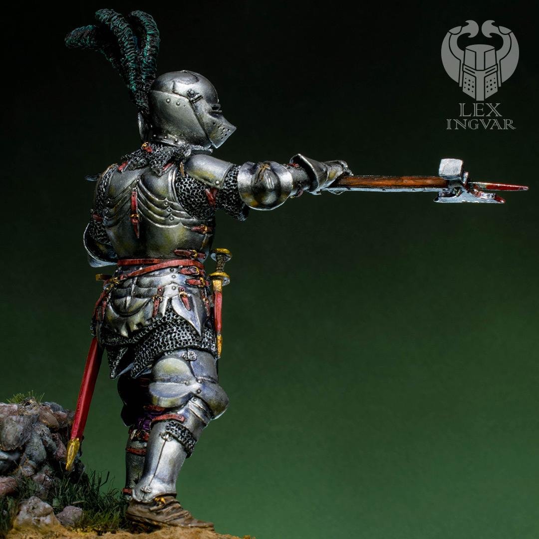 Фигурки: Итальянский кондотьер, бургундский рыцарь, фото #5